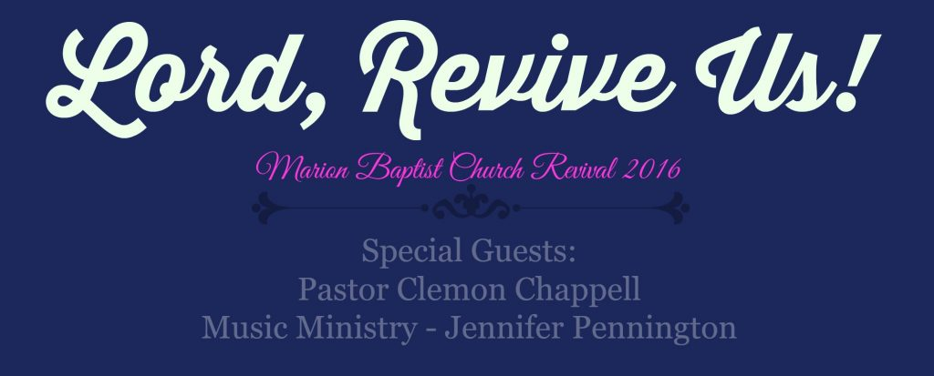 Revival page title