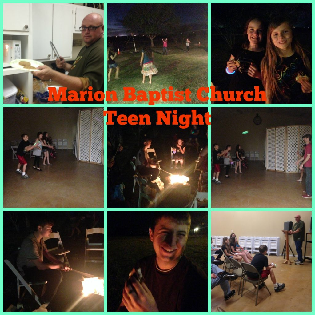 campfire teen night