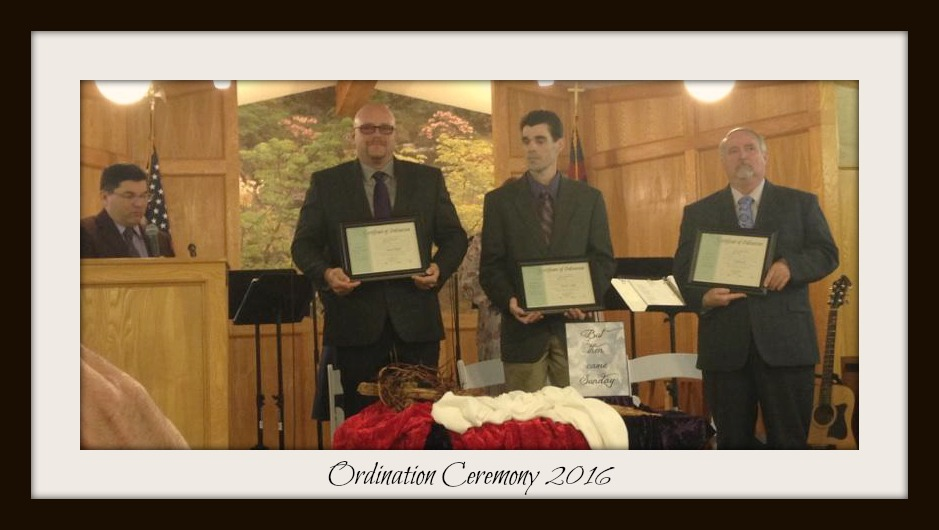 ordination frame
