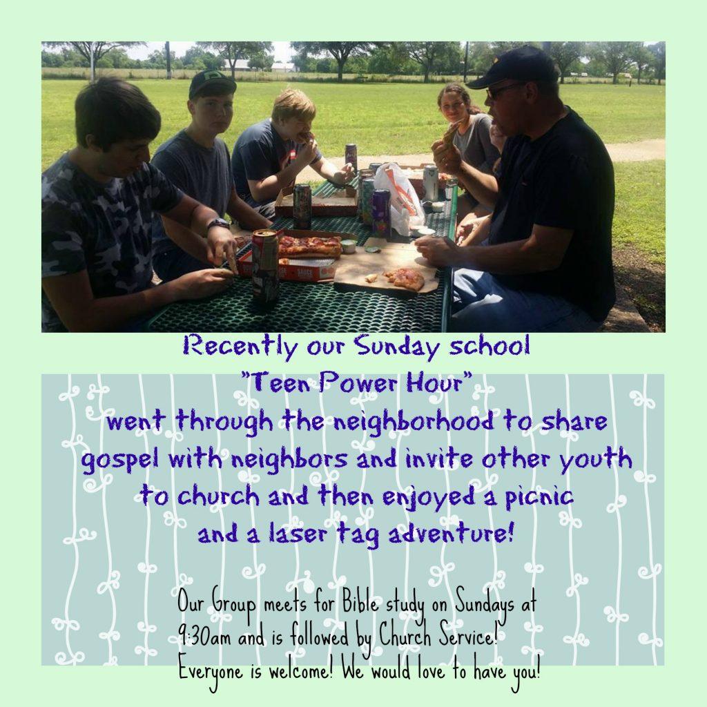 teen picnic